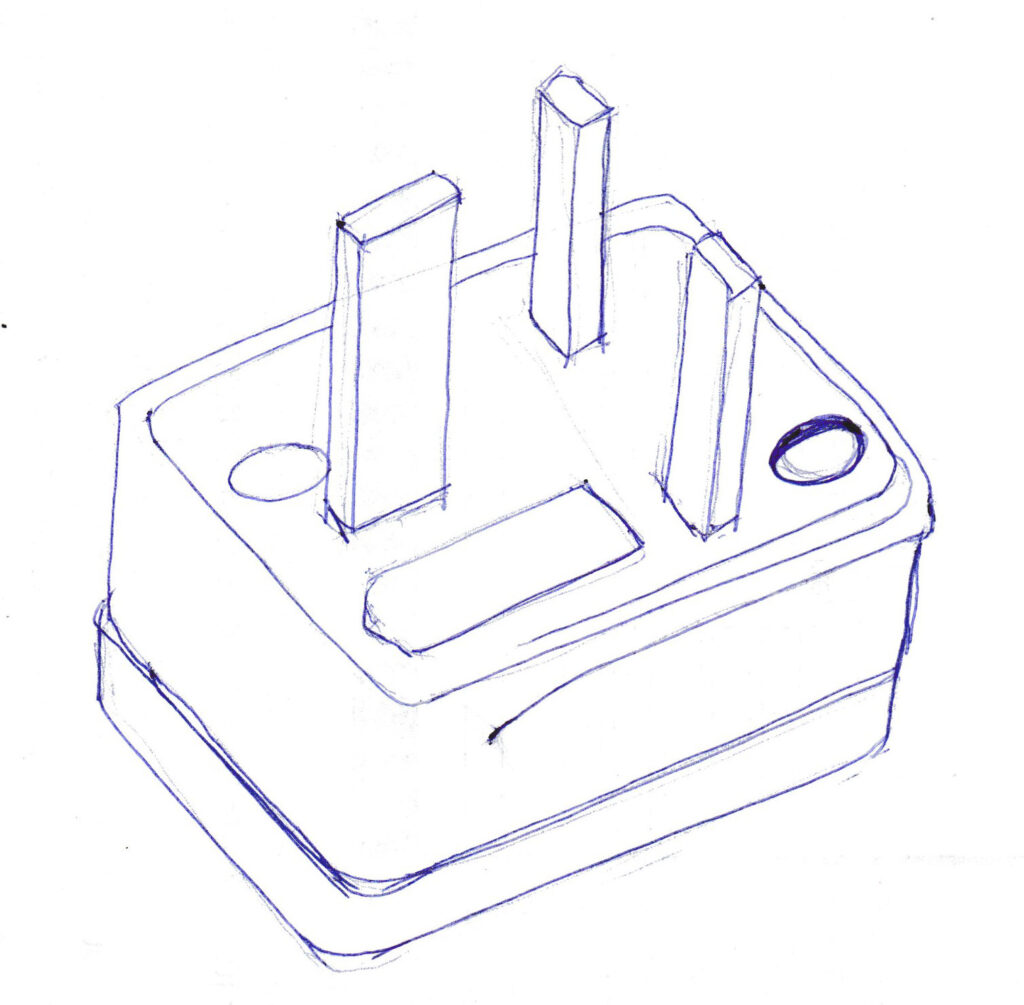 An electric plug
