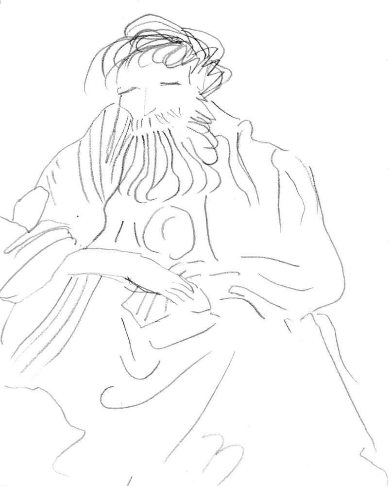 Tiepolo drawing