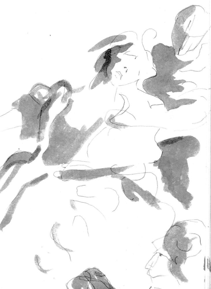 Drawing of a figure